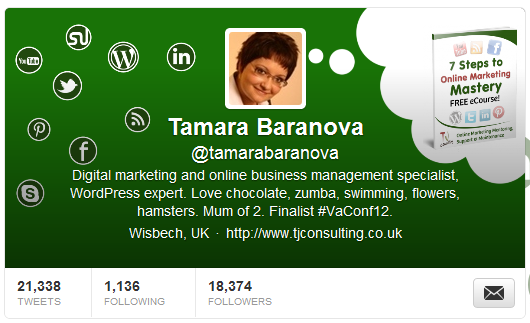 twitter header image profile design